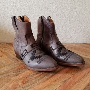 Matisse Remington Western Leather Boots Size 7.5